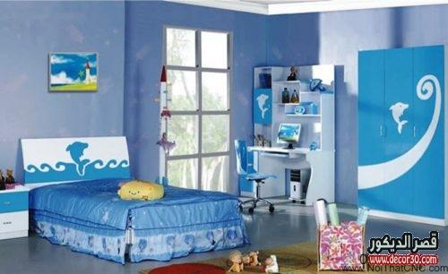 ديكورات غرف اطفال تركية