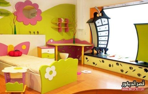 اشكال ديكورات داخلية غرف اطفال