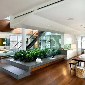احدث تصاميم منازل داخلية 2017