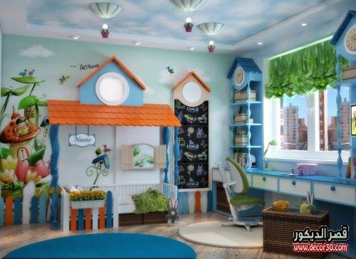 ديكور داخلي غرف اطفال