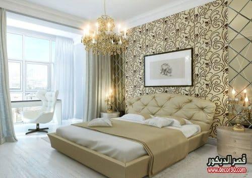 صور ديكورات جبس غرف نوم بسيطة