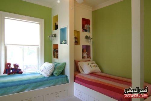 ديكورات غرف نوم اطفال تركية