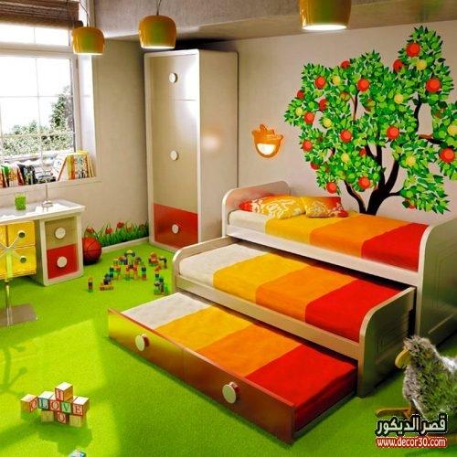 غرف نوم اطفال تركية حديثة