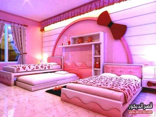 غرف نوم تركية للبنات