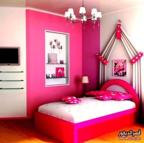 اشكال غرف نوم تركية للبنات