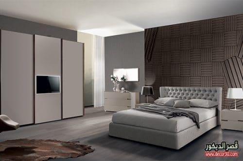 الوان مميزة لغرف النوم الايطالية