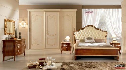 غرف نوم ايطالية هادئة