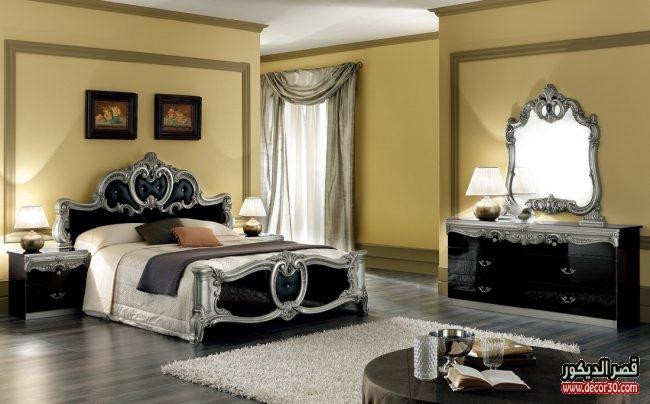 الوان رقيقة غرف نوم كلاسيك