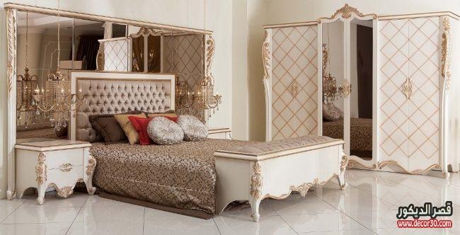 موديلات غرف نوم كلاسيكية