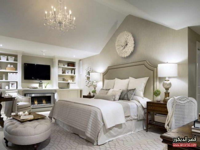 صور غرف نوم كلاسيك