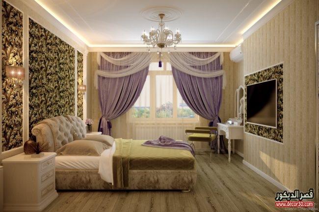 غرف نوم كلاسيك كاملة