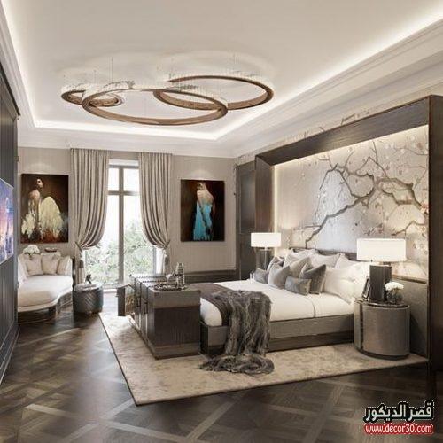 825d0322d دهانات غرف نوم الوان الحوائط الحديثة ،Modern bedroom paints - قصر ...