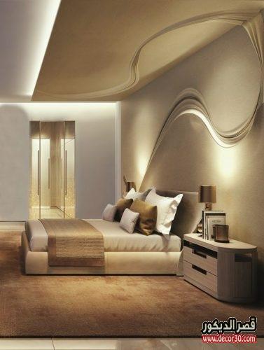 احدث الوان حوائط غرف النوم بالصور
