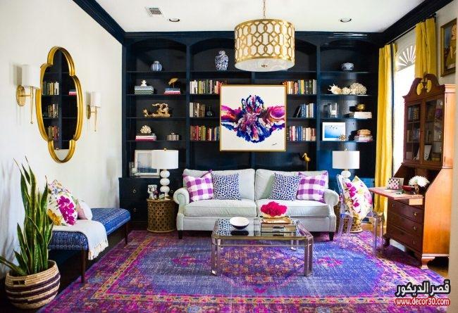 ديكورات غرف معيشة تركي