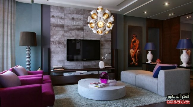 بالصور غرف معيشة تصاميم حديثة