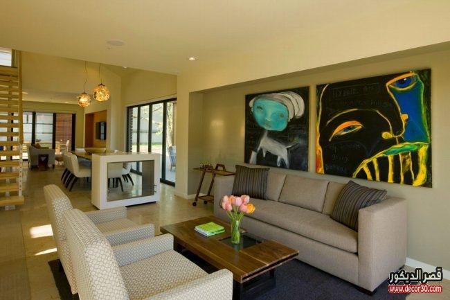 غرف معيشة تصاميم جديدة