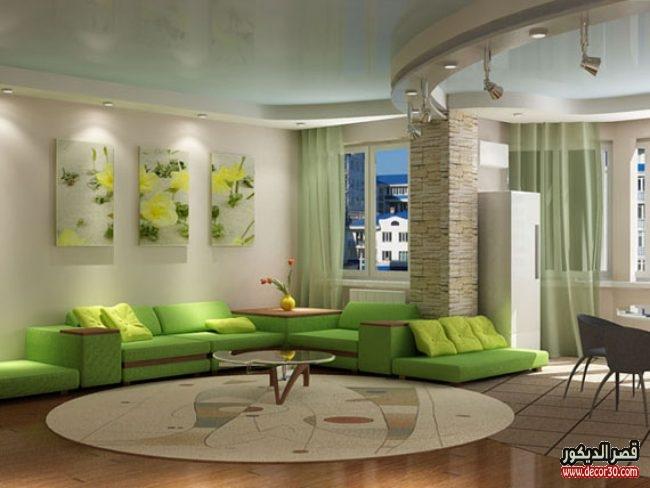 صور غرف معيشة حديثة