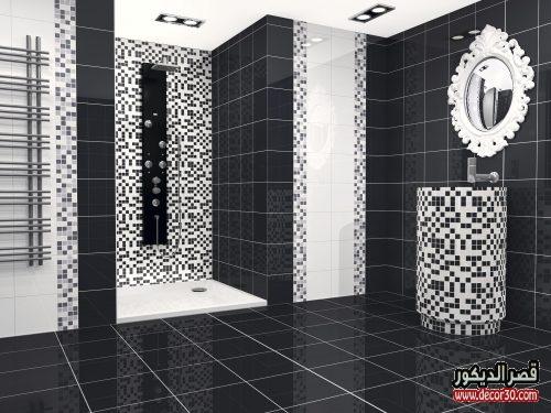 اطقم حمامات اسود