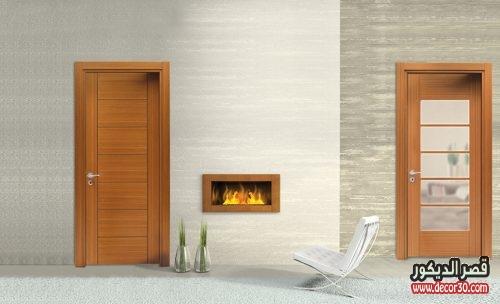 الوان أبواب خشب للغرفة