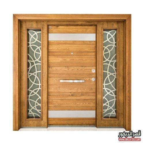 الوان أبواب خشب للفلل