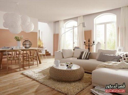 الوان الجدران لغرف الجلوس