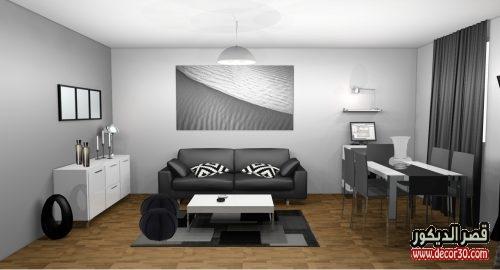 الوان غرف الجلوس المودرن