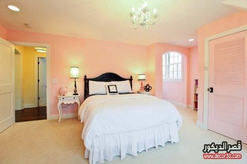 الوان غرف نوم للعرسان بسيطة