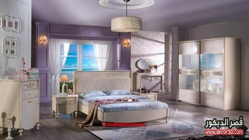 الوان غرف نوم للعرسان كاملة 2017