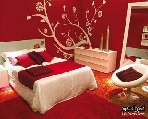 الوان غرف نوم للعروسان