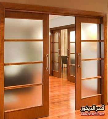 أبواب خشب كبس