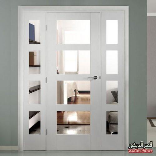 الأبواب ذات الدرفتين
