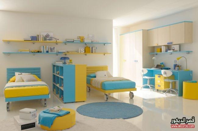 ديكورات غرف نوم أطفال جذابة