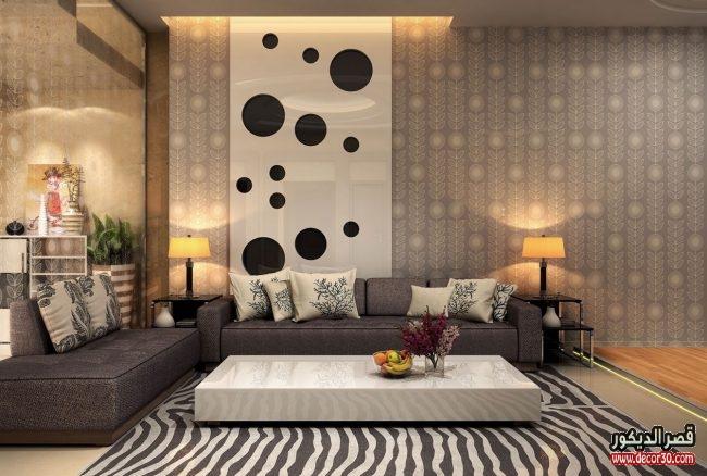 تصاميم مودرن غرف معيشة
