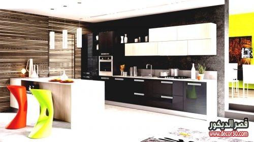 تصاميم مطابخ مفتوحة على الصالة