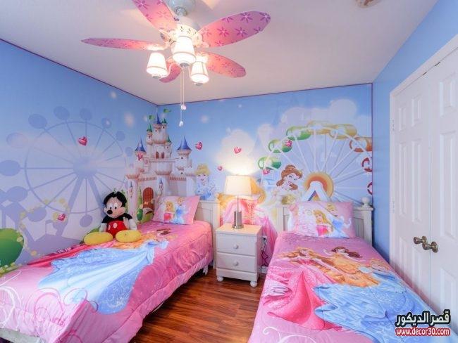 احدث غرف نوم للأطفال حصرية