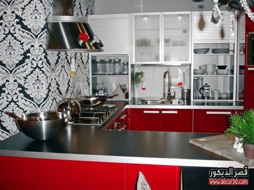 تصميم مطبخ 3 متر