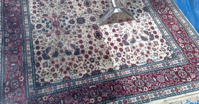 تنظيف السجاد الحرير