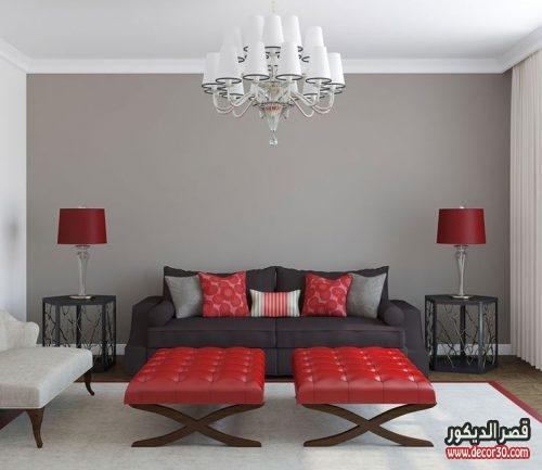 ديكورات الوان غرف الجلوس
