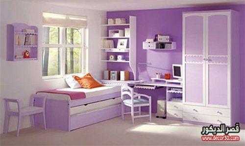 ديكورات غرف نوم اطفال بناتي