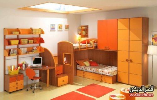 ديكورات غرف نوم اطفال جديدة