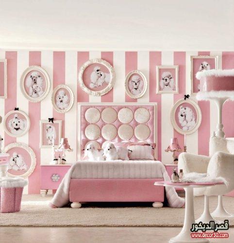 ديكورات غرف نوم اطفال كيوت