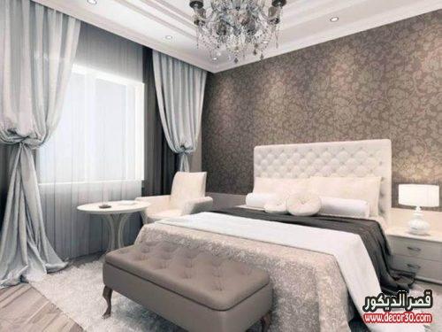 ديكورات غرف نوم حوائط
