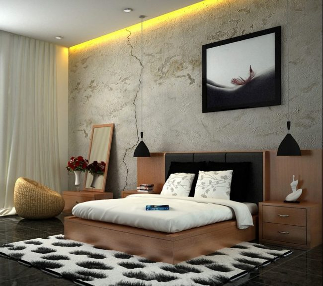 30 Stylish And Contemporary Masculine Bedroom Ideas: ديكورات غرف نوم مودرن