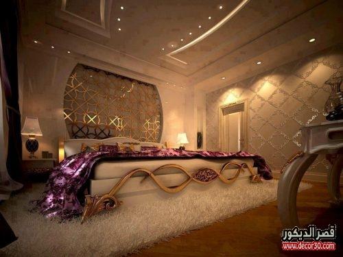 ديكورات غرف نوم مودرن | Decorations modern bedroom   قصر الديكور