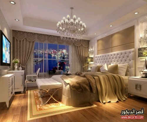 ديكورات غرف نوم مودرن