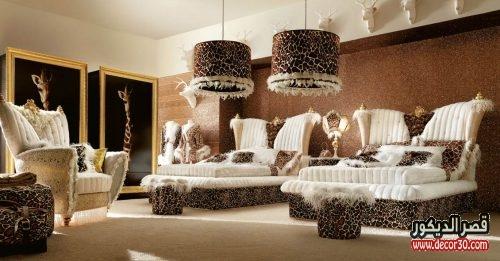 ديكور غرف نوم ملوكي