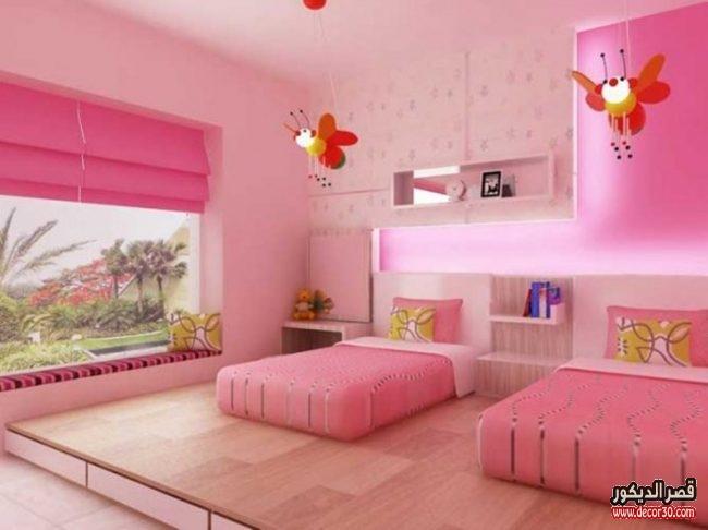 اشكال غرف نوم جذابة للأطفال