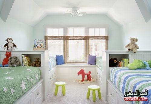 غرف اطفال 4 سراير