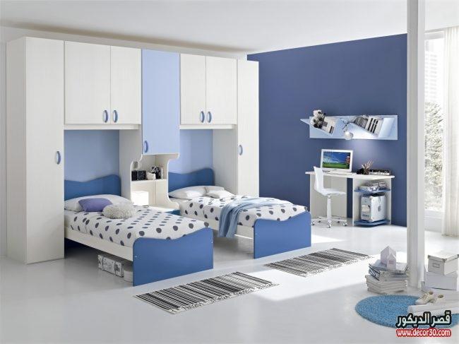 غرف نوم أطفال تصميمات هادئة
