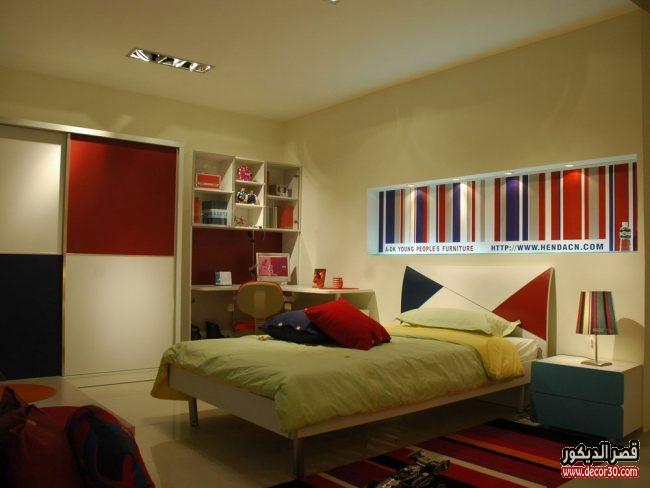 غرف نوم كاملة للشباب